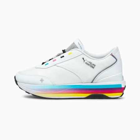 PUMA x FELIPE PANTONE Cruise Rider Damen Sneaker, Puma White, small