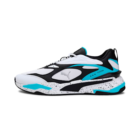 RS-Fast Nano Shoes, Puma White-Puma Black, small-IND