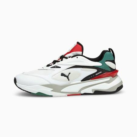 Zapatos deportivos RS-Fast Mix, Puma White-Black-Blue Spruce, pequeño