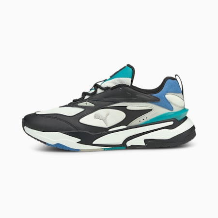 RS-Fast Mix Trainers, White-Black-Star Sapphire, small