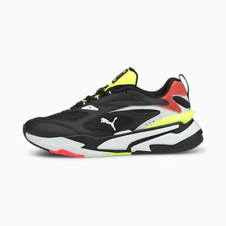 RS-Fast Mix Trainers, Puma Black-White-Ig Pink, small