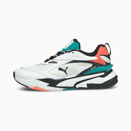 RS-Fast Mix Sneaker, White-Black-Georgia Peach, small