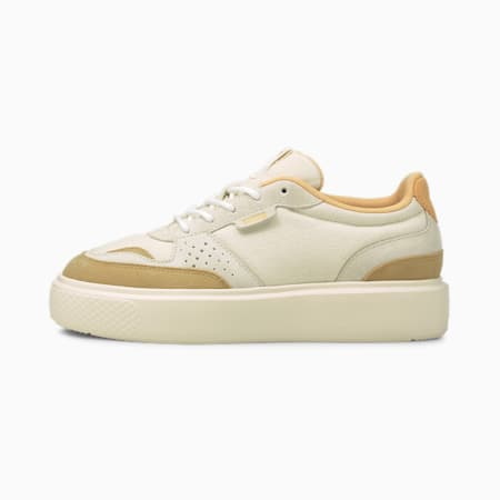 PUMA x PUMA Oslo Femme Damen Sneaker, Whisper White-Puma White, small