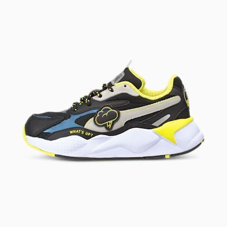 PUMA x emoji® RS-X³ Little Kids' Shoes, Puma Black-Puma White, small