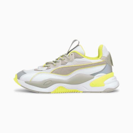 PUMA x Emoji RS-2K Jugend Sneaker, Puma Silver-Puma White, small