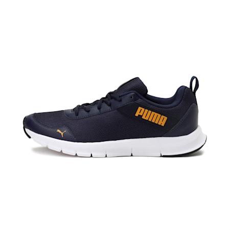 Movemax V1 IDP Men's Running Shoes, Peacoat-Saffron, small-IND