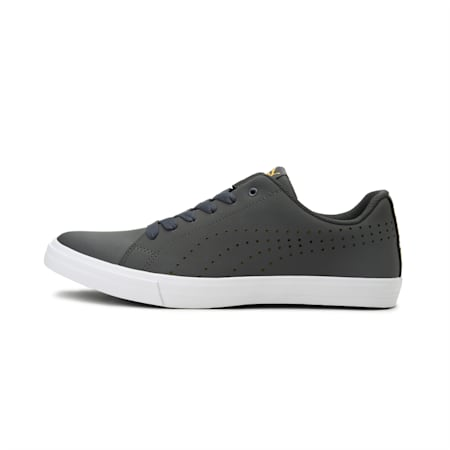 Poise Perforated IDP Men's Shoes, Dark Shadow-Sulphur, small-IND