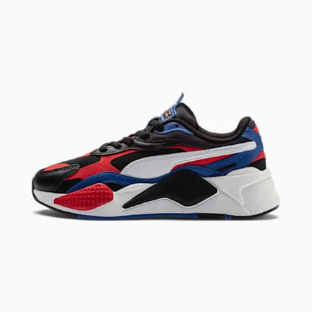 RS-X³ Bright L sportschoenen voor jongeren, P.Black-Hi.Ri.Red-Lapis Blue, small
