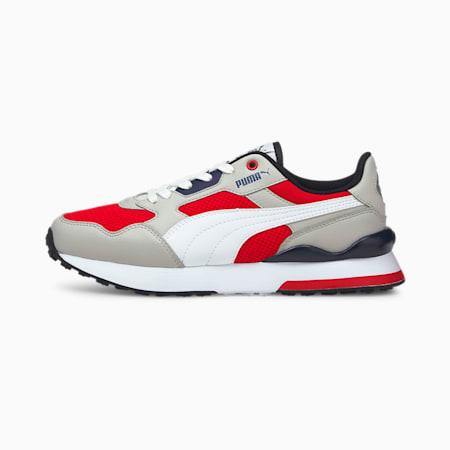 Zapatos deportivos R78 FUTR JR, High Risk Red-White-Gray, pequeño