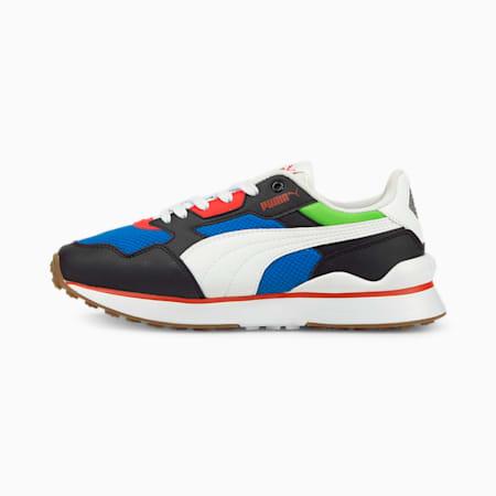 Zapatos deportivos R78 FUTR JR, Puma Black-Puma White-Future Blue, pequeño