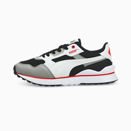 Zapatos deportivos R78 FUTR JR, Puma Black-Puma White-Limestone, pequeño