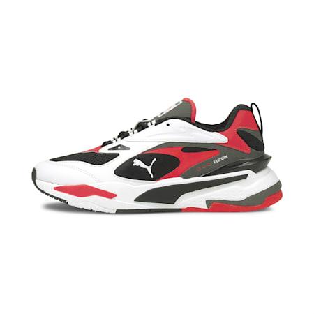 RS-Fast Sneakers JR, PumaBlack-PumaWhite-RedBlast, small