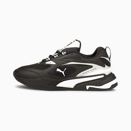 RS-Fast Youth Trainers, Puma Black-Puma White, small