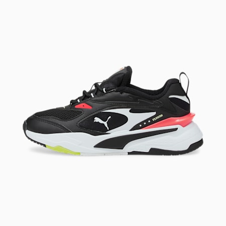 RS-Fast Jugend Sneaker, Black-Black-Fiery Coral, small