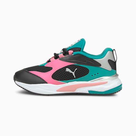 RS-Fast Kinder Sneaker, PumaB-SachetPink-Parasailing, small