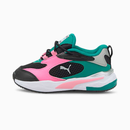 RS-Fast AC Babies' Trainers, PumaB-SachetPink-Parasailing, small