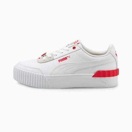 Carina Lift Valentine's Damen Sneaker, Puma White-Puma White, small