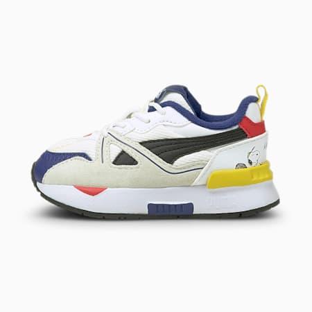 PUMA x PEANUTS Mirage Mox Baby Sneaker, Puma White-Puma Black, small