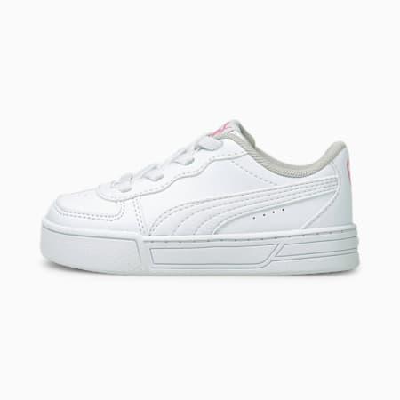 ZapatosPUMA Skyepara bebés, Puma White-Puma White-Sachet Pink, pequeño
