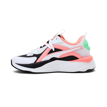 RS-Curve Women's Shoes, Puma Wht-Nrgy Peach-Elk Grn, small-IND
