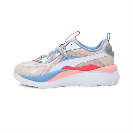 RS-Curve Aura Women's Shoes, Shift Sand-Eggnog-Puma Silvr, small-IND