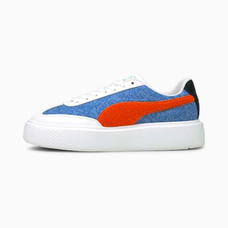Damskie buty sportowe PUMA x MR DOODLE Oslo Maja, Ultramarine-American Beauty, small