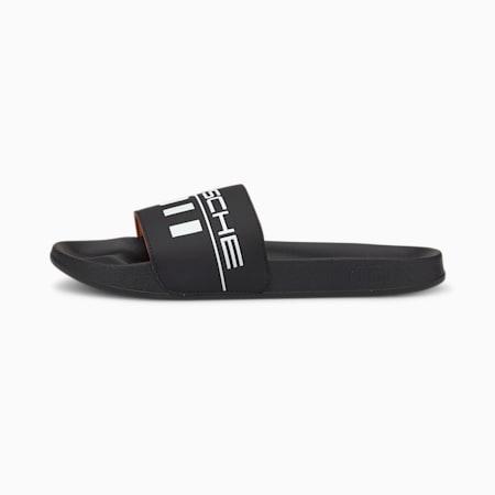 Porsche Legacy Leadcat FTR Graphic Sandals, Puma Black-Puma White, small