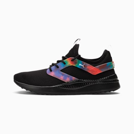 Pacer Next Excel Tie Dye Women's Training Shoes, Puma Black-Luminous Pink, small