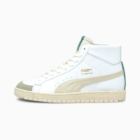 PUMA x EARTHBREAK Ralph Sampson 70 Mid Shoes, Eggnog-Puma White, small-IND
