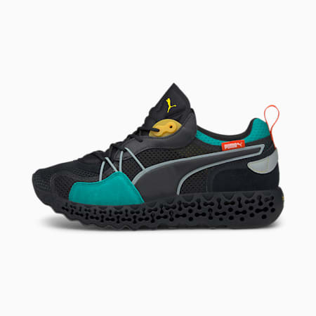 Calibrate Restored Tron Shoes, Puma Black-Parasailing, small-IND