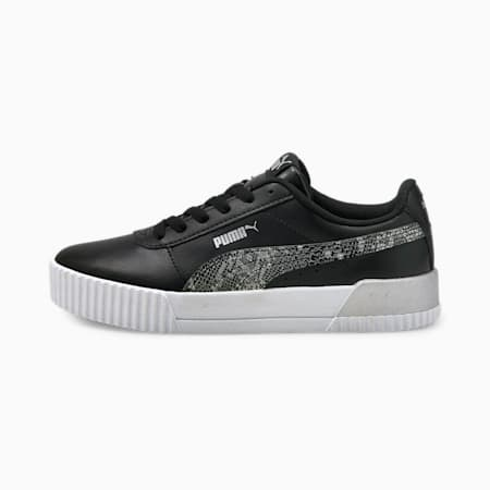 Carina Untamed Women's Sneakers, Puma Black-Puma Silver, small-IND
