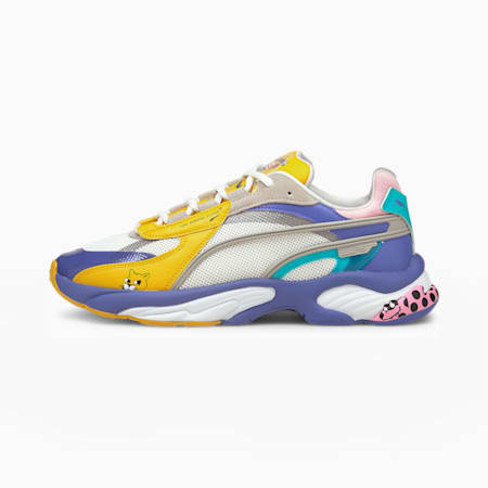PUMA x AKA BOKU RS-Connect Shoes, SOLAR POWER-Puma White, small-IND