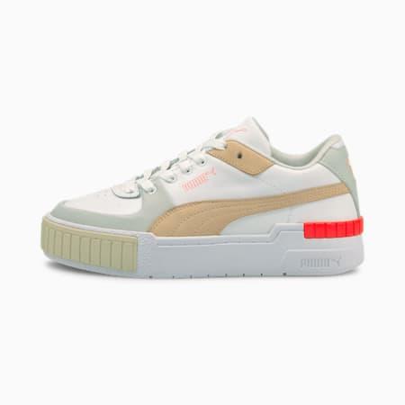 Zapatos deportivos Cali Sport Conveypara mujer, Puma White-Gray Violet, pequeño
