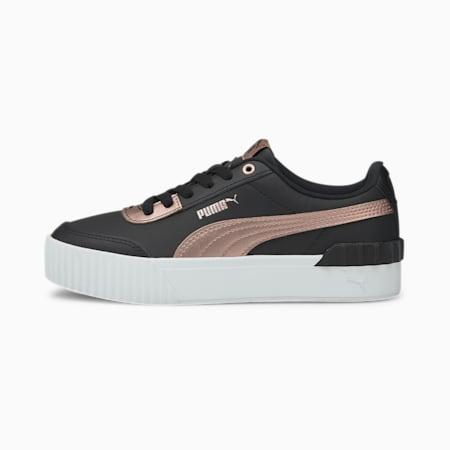 Carina Lift Metallic Damen Sneaker, Puma Black-Rose Gold, small