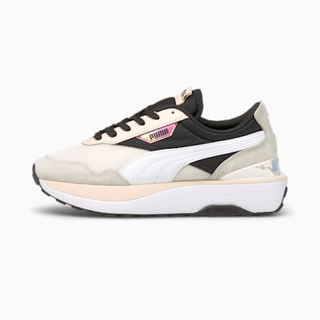 Zapatillas Cruise Rider Iridescent para mujer, Marshmallow-Cloud Pink, small