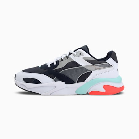 Zapatos deportivos X-Ray Millennium, Ebony-Limestone-Puma White-Puma New Navy, pequeño