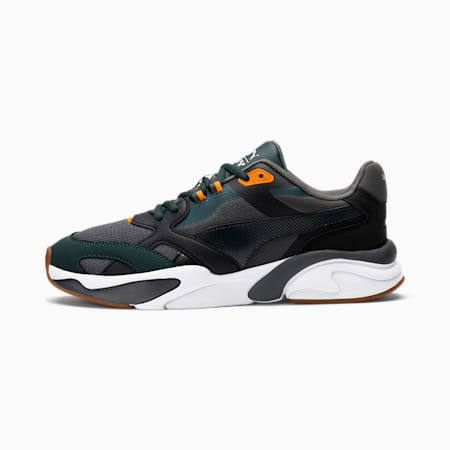 Zapatos deportivos X-Ray Millennium, Dark Shadow-Green Gables-Puma Black, pequeño