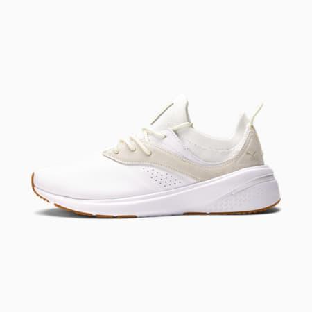 Zapatos deportivos de entrenamiento PUMA x goop Forever XT para mujer, Puma White-Ivory Glow, pequeño