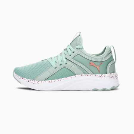 Softride Sophia Speckle Women's Slip-On Running Shoes, Frosty Green-Copper, small-IND