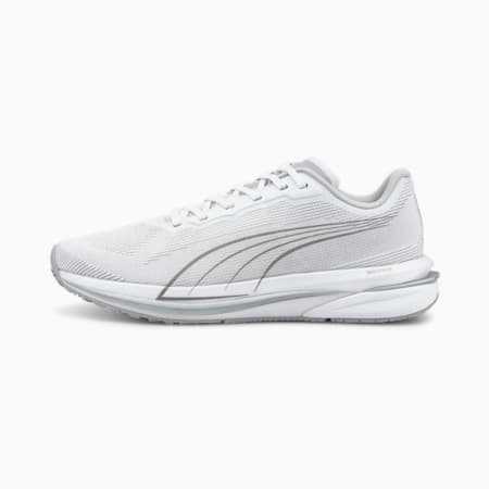Velocity Nitro COOLadapt Women's Running Shoes, Puma White-Puma Silver, small-SEA