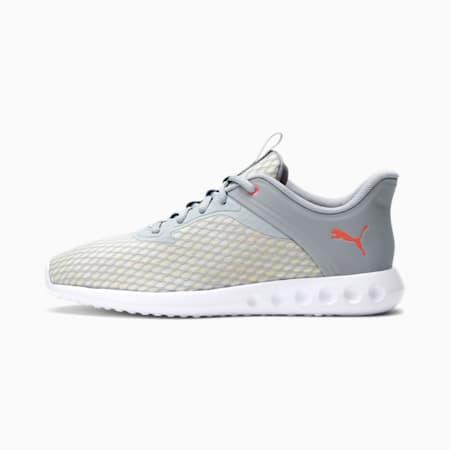 Zapatos para correr Carson 2 Edge X Ultra para mujer, Quarry-Sun Kissed Coral, pequeño