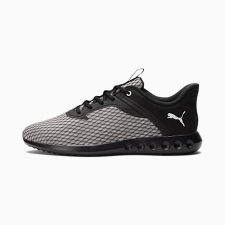 Zapatos para correrCarson2Edge X Ultra para hombre, Puma Black-Puma White, pequeño
