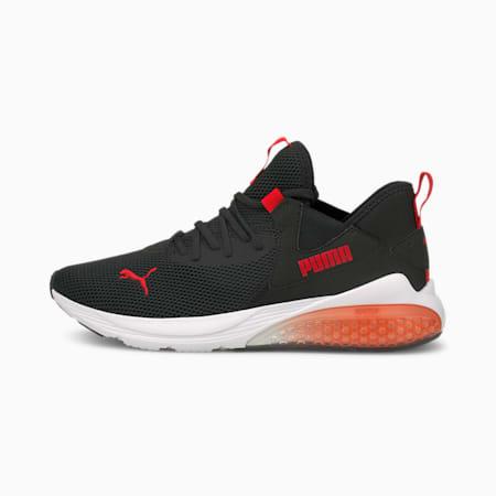 Zapatos deportivos para correr Cell Vive Evo para hombre, Puma Black-High Risk Red, pequeño