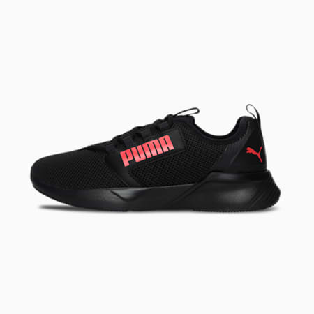 Retaliate Tongue SoftFoam Men's Running Shoes, Puma Black-High Risk Red, small-IND