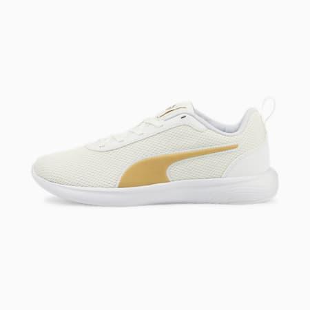 Softride Vital Fresh Running Shoes, Puma White-Puma Team Gold, small