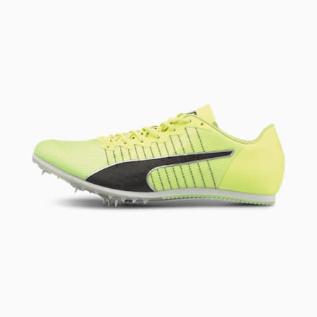 evoSPEED Tokyo Future JUMP Track and Field Shoes, Fizzy Yellow-Nrgy Peach, small
