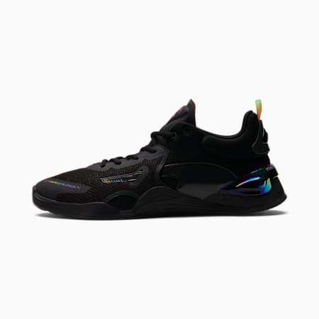 Zapatos de entrenamiento FUSE x OUT Foundationpara hombre, Puma Black-Puma Black, pequeño