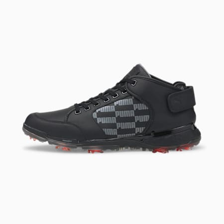 PROADAPT Δ Mid Men's Golf Shoes, Puma Black-QUIET SHADE, small-GBR
