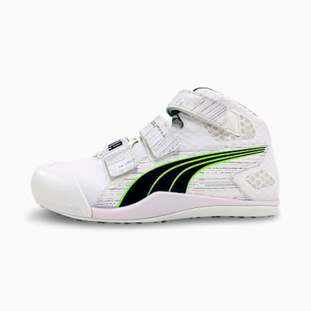 evoSPEED Javelin Elite Track and Field Shoes, White-Spellbound-Green Glare, small