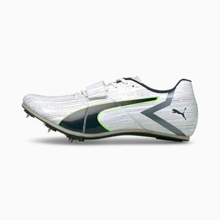 evoSPEED Tokyo Future Nitro Track and Field Shoes, White-Spellbound-Green Glare, small